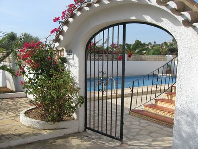 Photo for Spanish style villa for 6 people with a large private pool