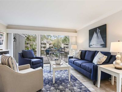 Photo for A magnificent view of the waterway from every room of this townhouse!