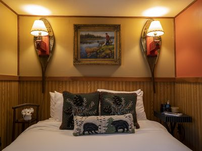 Photo for Classic Adirondack Luxury Queen Suite with Breakfast Included on 7 Acres