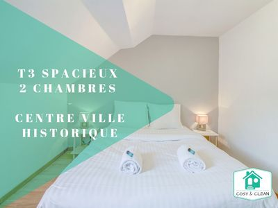 Photo for 2BR Apartment Vacation Rental in Dijon, Bourgogne