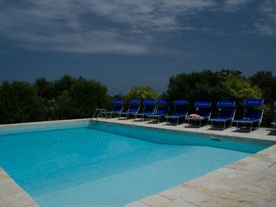 Photo for Lovely fully restored trullo country house, large pool and wifi