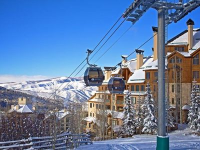 Photo for Never Walk in Ski Boots Again! BEST Location in Beaver Creek!