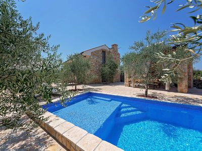 Photo for Holiday house Mednjan for 9 - 11 persons with 4 bedrooms - Villa