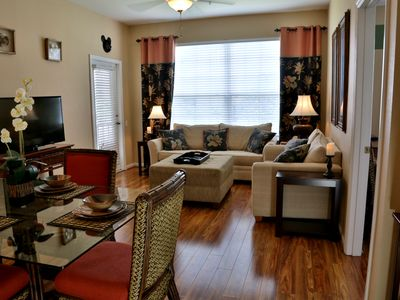 Photo for Newly Renovated, Butterfly Palm Retreat @ Windsor Palms Resort. Close to Disney!
