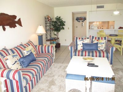 Photo for Spectacular Gulf Front 1 BR Condo #109