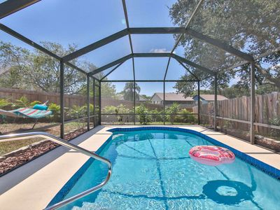 Photo for 1 Floor Pool Home, WiFi, Near Marble Park/Tennis/Private Pool and Pet Friendly