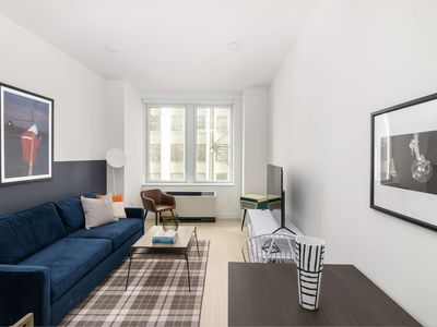 Photo for Sonder | Stock Exchange | Peaceful 1BR + Lounge