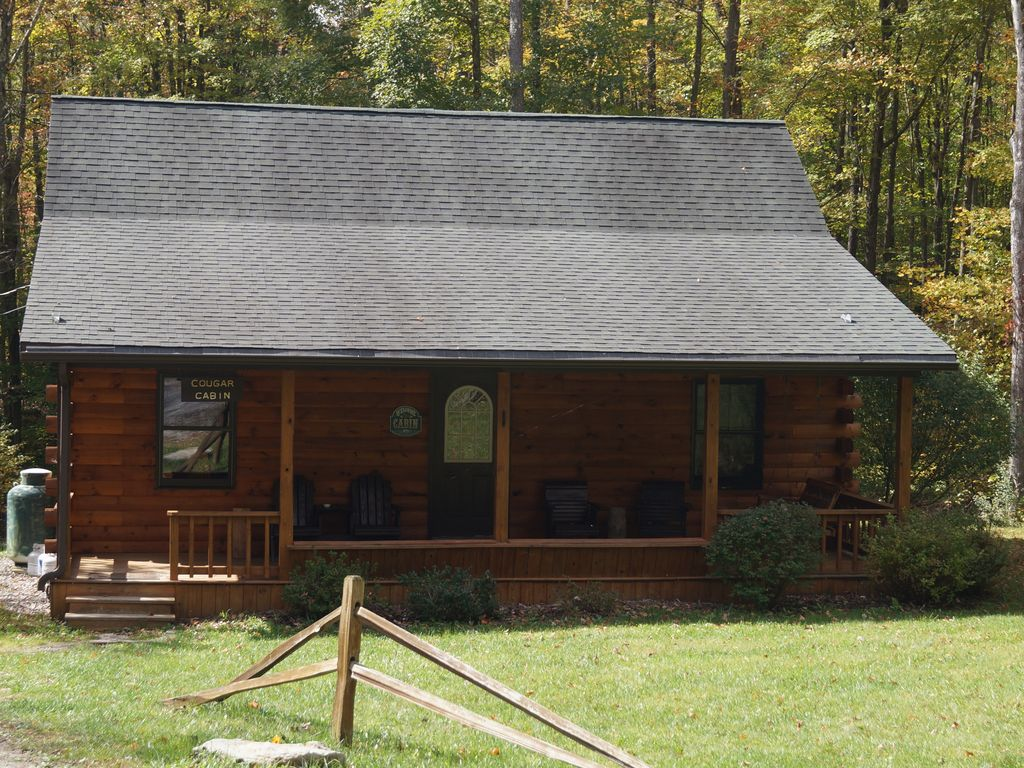 creek deep decked tub cabins out vacation hot in wv with pinnacle drive rentals lake