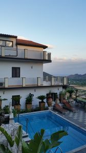 Photo for Superb apartment in Villa with Swimming Pool near Taormina and Giardini - Naxos