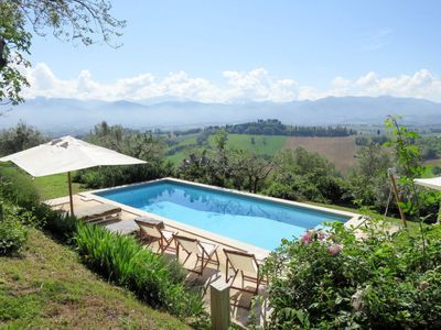 Photo for Vacation home Casa Il Frantoio (USP100) in Spoleto - 12 persons, 4 bedrooms