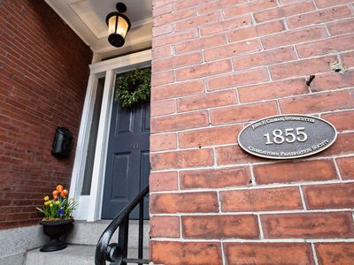 Photo for WALK TO FANUEIL HALL, 4 bedroom Historic Brick Townhome on Gas lit street