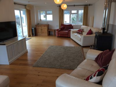 Photo for Ocean Views - refurbished house, with sea views, roof terrace and games room.