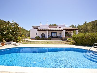 Photo for CHARMING VILLA WITH PRIVATE POOL, SEA VIEW CLOSE TO CALA BASSA