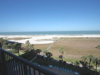 Rare Sand Key Beachfront, Pool, Tennis, Hot Tub, W/D, Wi-Fi, Cable, Balcony, BBQ -Landmark Towers II