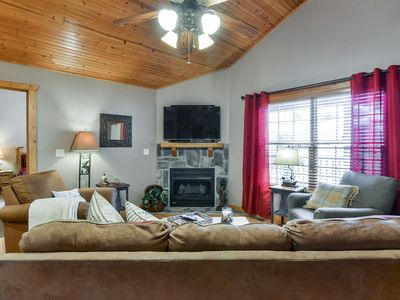 Photo for Our Retreat- Beautiful 2 Bedroom, 2 Bath Lodge at Stonebridge Resort!