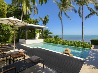 Photo for Three Bedroom Suite Pool Villa Beach Front (A)