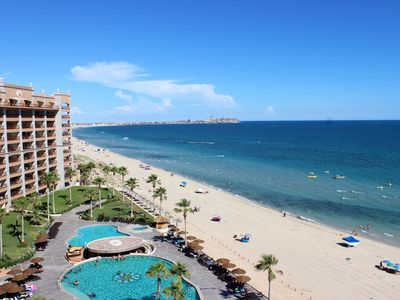 Photo for SW 804 Amazing 2 bedroom 2 bath Upper Ocean Front condo at the Sonoran Sun
