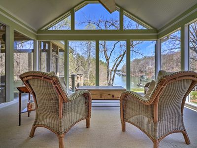 Photo for NEW! Waterfront Home on Lake Lanier w/Dock + Slip!