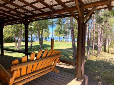 Photo for NEW rental on Mullet Lake with 900+ feet of waterfront!