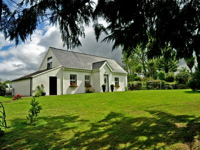Photo for Traditional farmhouse, completely renovated, quiet and secluded, on country lane about 2 miles…