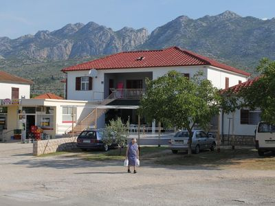 Photo for Apartment in Seline (Paklenica), capacity 8+3