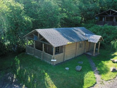 Photo for Vacation home Bear Cabin in Drumnadrochit - 4 persons, 2 bedrooms