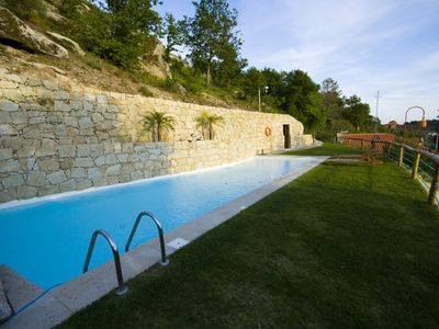 Photo for rustic villa surrounded by nature with pool