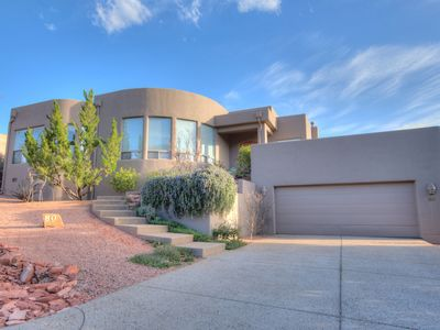 Photo for Whitetail- Gorgeous home surrounded by picturesque Red Rock mountains