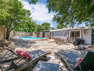 Photo for Walk to Will Rodgers and Enjoy Private Backyard Pool & Patio!
