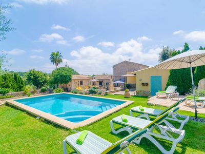 Photo for SES VELLETES - Villa with private pool in Artà.