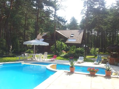 Photo for Siewierz: Datcha tradtional wooden, private pool, possibility 10 sleeping