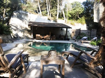Photo for 4 room house 6 pers heated pool - 4 rooms 6 people