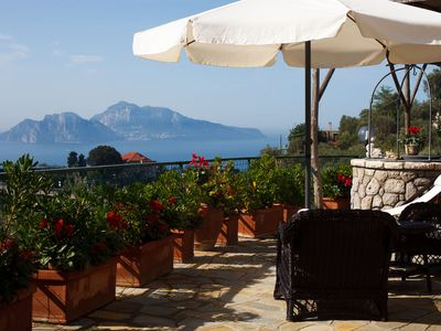 Photo for Villa Luisa, splendid panoramic villa overlooking Capri