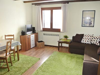 Photo for Apartment 399 m from the center of Silvaplana with Lift, Parking, Internet, Washing machine (62933)