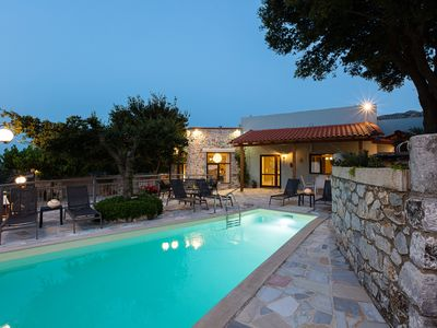 Photo for Eumelia Villa, with private pool, close to amenities, nature's revitalisation!