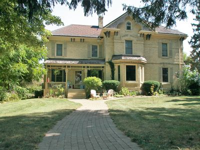 Photo for Bayfield Manor--Largest historic rental home in Bayfield