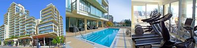 Photo for Luxury 1bed + den condo in the heart of downtown