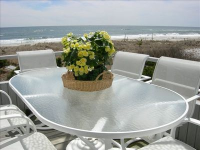 Photo for Spectacular Oceanfront 2 BR 2 Bath Condo-Full month-AUGUST-Labor Day & Beyond