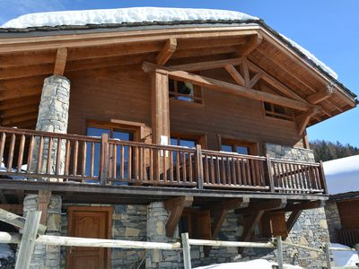Photo for Chalet Sainte Foy Tarentaise Resort - 200M2 - 14 people - breathtaking view