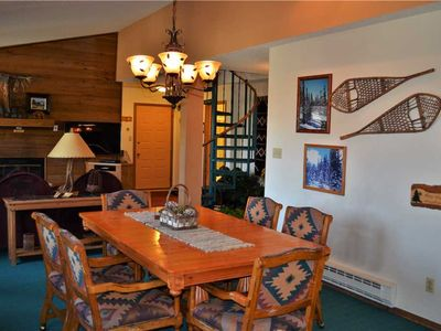 Photo for Heavenly 2 Bed, 3 Bath, Plus Loft Slopeside Condo, Blocks from Mainstreet