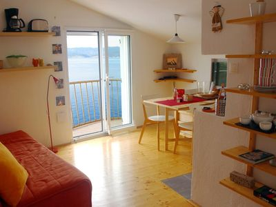 Photo for Orange Apartment with Balcony and Sea View