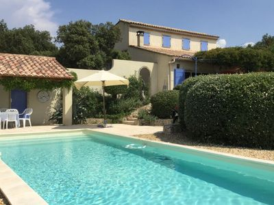 Photo for Charming Villa in Villes-sur-Auzon with Swimming Pool