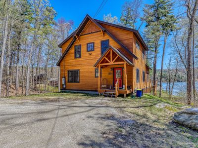 Photo for NEW LISTING! Family friendly, waterfront home w/ a view - near Okemo Mountain!