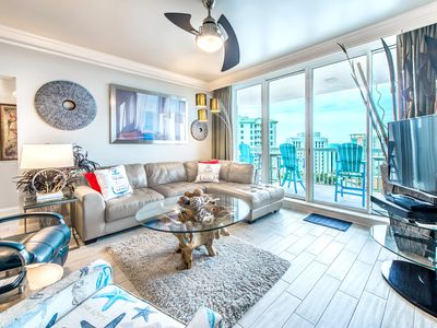 Photo for Gulf VIEWS! Pools + Hot Tub ☀2 Step Sanitizing Process☀ 2BR St. Lucia 1103