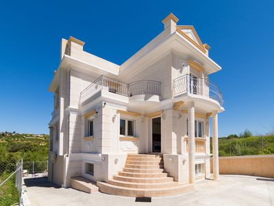 Photo for 250m² Villa ideal for Family quiet Stratos Palace, Free wifi, free Parking