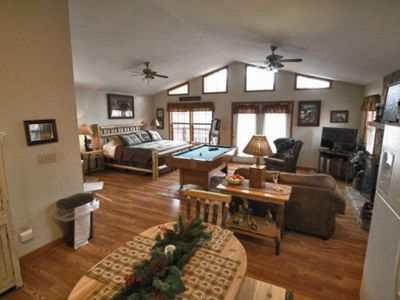 Photo for Hemlock Haven:  A Cozy Mtn Retreat Located between Pigeon Forge and Gatlinburg!