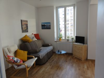 Photo for NEW: T2 Apartment 35m² Furnished Quiet Center Garden Parking Cure
