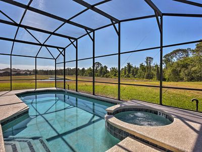 Photo for Emerald Island Retreat w/Pond View, 5 Mi to Disney