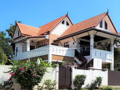 Photo for Amintra 5 Pool Villa. 3 bedroom seaview villa with easy access to all amenities