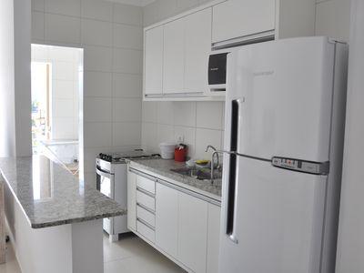 Photo for APT 2 BEDROOMS NEW, HIGH STANDARD, AIR, SWIMMING POOL, PROX BEACH WI-FI CABLE TV, P / 6 PS